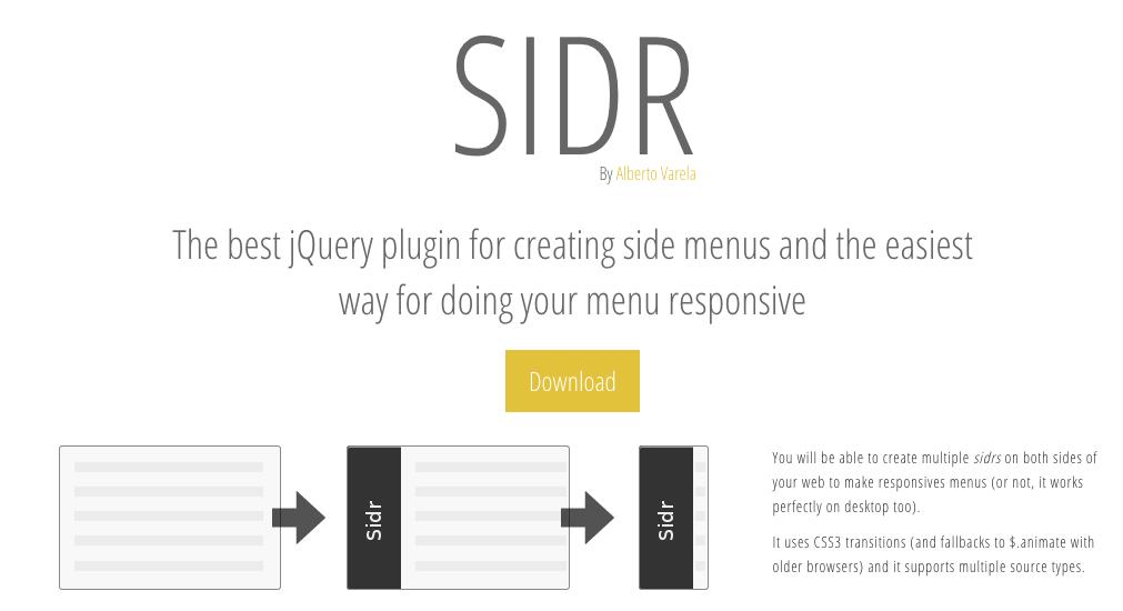 Sidrでページ内リンクをクリック時、メニューを閉じる方法
