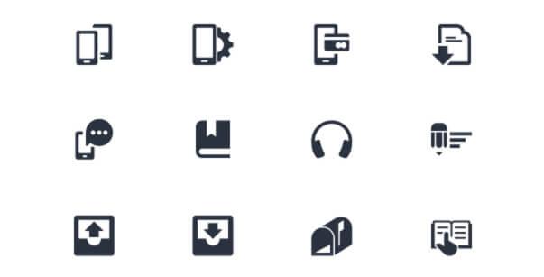 IconAlone: 135 Lyra Icons