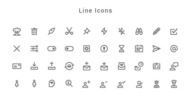 Nova: 350 Material Style Icons