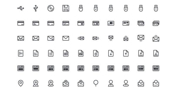 UIcons: 140 Free Icons