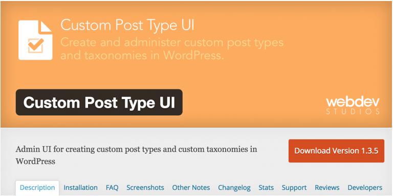 CPT UIでカスタム投稿別にdescriptionを表示させる