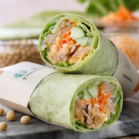 サラダラップ 春野菜&スイートチリ