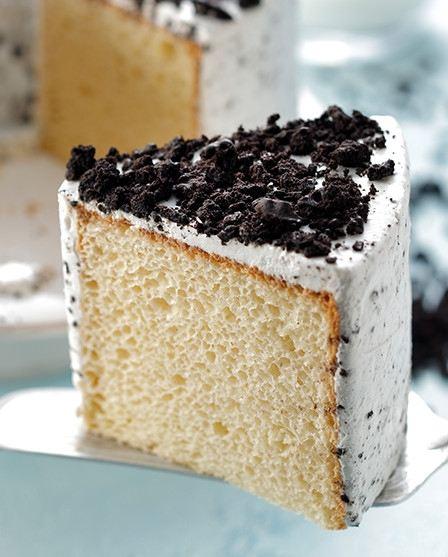 クッキー&クリームシフォンケーキ