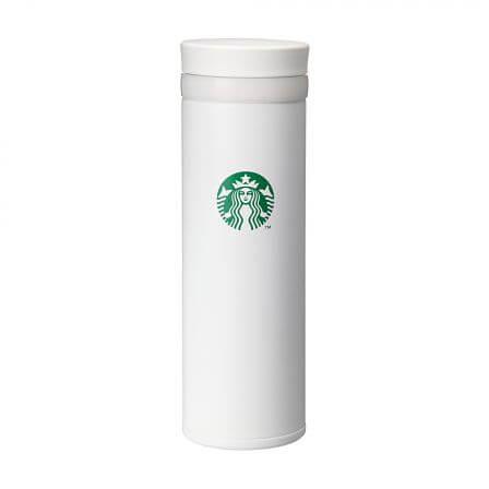 ステンレスリングボトルホワイト 350ml