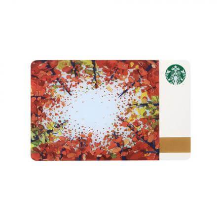スターバックス カード オータムシーン