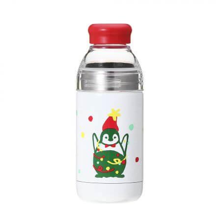 ホリデー2017ダブルウォールステンレスウォーターボトルペンギン