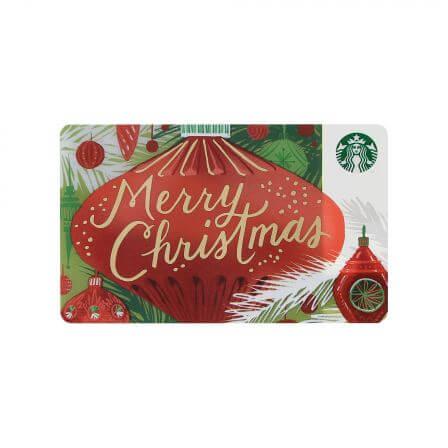 スターバックス カード メリークリスマス