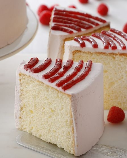 ラズベリーシフォンケーキ
