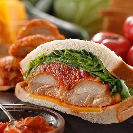 チキン&トマトサンドイッチ
