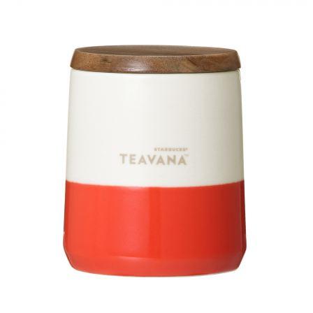 Teavana™ ウッドリッド付カップオレンジ