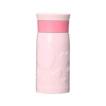 バレンタイン2018ステンレスボトルピンク