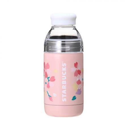 SAKURA2018ダブルウォールステンレスボトルカラフルペタル