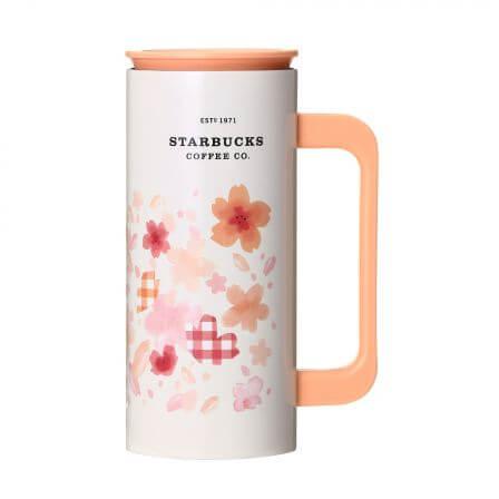 SAKURA2018ステンレスマグピンクオレンジ